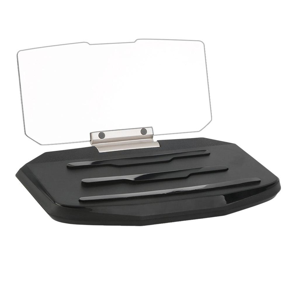 Car HUD Head Up Display Speed Warning GPS Navigation HUD Bracket Head Up Display For Smart Phone Car Stand Folding Holder