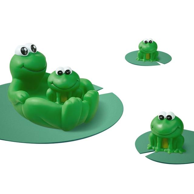 Фото bc babycare 4 шт симпатичные лягушки детские игрушки для душа