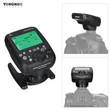 YONGNUO YN E3 RT II sur caméra Flash Speedlite transmetteur Flash déclencheur pour Canon Nikon pour ST E3 RT/600EX RT/YN968EX RT etc.