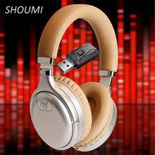 Écouteurs Bluetooth à suppression Active du bruit, casques d'écoute avec adaptateur TV USB 3.5, basse profonde, écouteurs sans fil, adaptateur de télévision