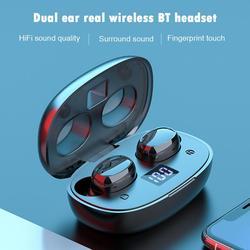 Bluetooth Earphone TWS Headset Hand free Wireless Headphones HD Call Gaming Accessories Wholesale Phones Music New Sport Earbuds