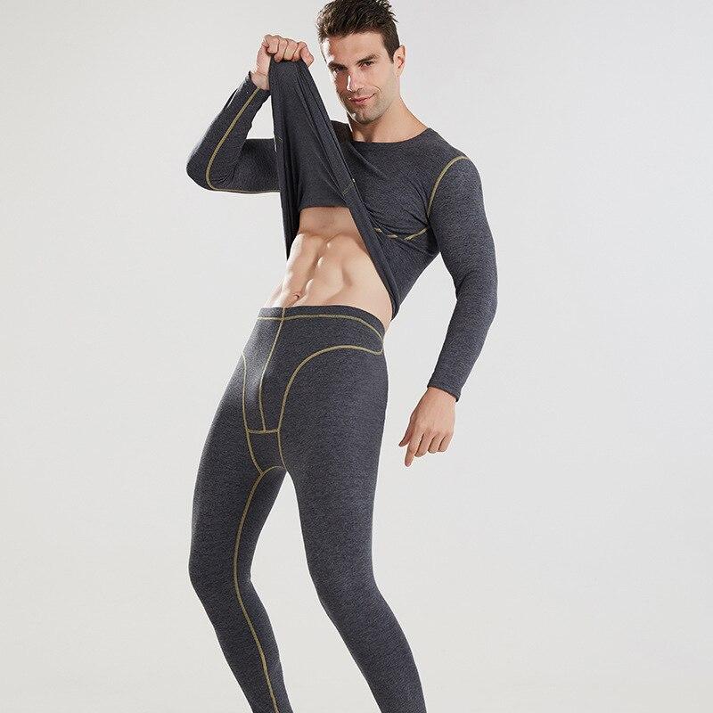 Men Sets Winter Thermos Underwear Men's Thermal Underwear Compression Underwear Thermal Clothing Man Winter Clothing