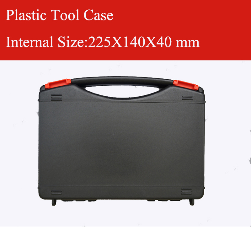 Plastic Tool Case Suitcase Toolbox Impact Resistant Safety Case Equipment Instrument Box Equipment With Pre-cut Foam