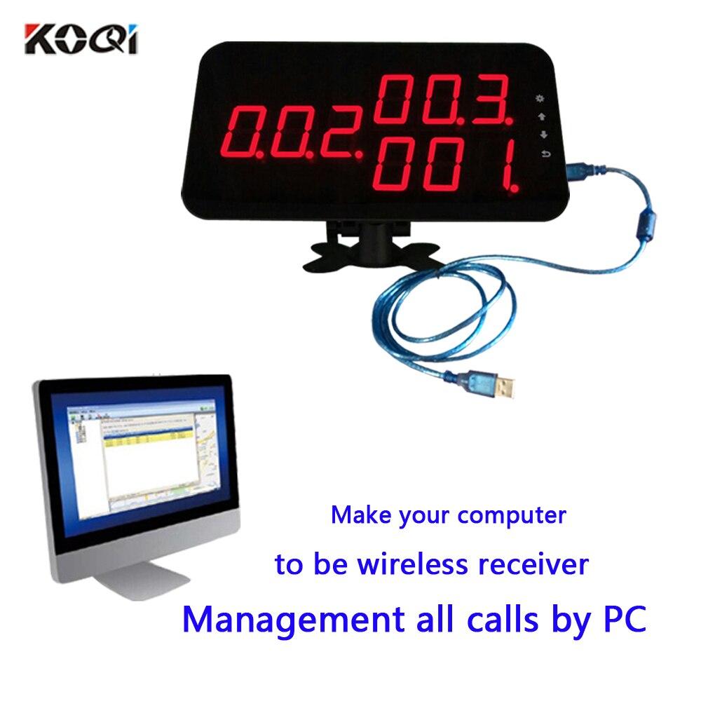 Ycall 433MHZ Drahtlose Krankenhaus Aufruf System Für 3 Digit Anzahl Krankenschwester Uhr Pager Starke Signal 200M