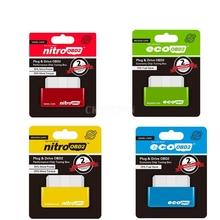 200 sztuk partia EcoOBD2 i Nitro OBD2 samochodów Chip Tuning Box więcej mocy i momentu obrotowego Nitro Obd wtyczka i napęd Nitro Obd2 narzędzie wysokiej jakości tanie tanio CKINNFON CN (pochodzenie) Other english NitroOBD2 Czytniki kodów i skanowania narzędzia