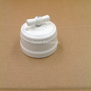 Image 2 - Home Improvement Hoge Kwaliteit Eu Keramische Schakelaar 2 Manier Wandlamp Schakelaar Smart Licht Knop Schakelaar 10A