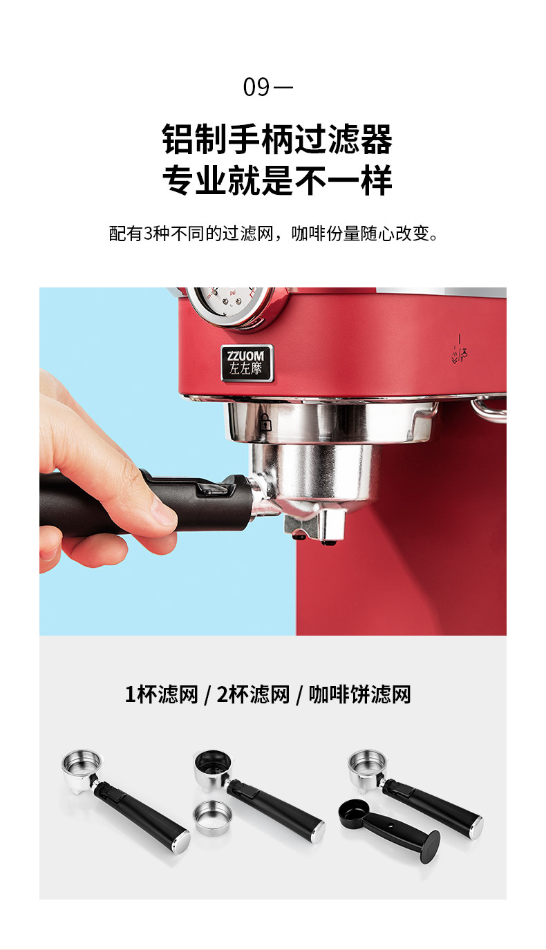 H015453cab53e4d0e8b04416dc7caeef2v - 2020 Neue 15Bar Espresso Machine Stainless Steel Body Memory Function Home Use Fully Automatic Milk Frother Kitchen Appliances