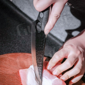 Handmade Forged Stainless Steel Kitchen Chef  Boning Knifes Fishing Knife Meat Cleaver Butcher Knife Meat Cleaver Hunting Knives 4