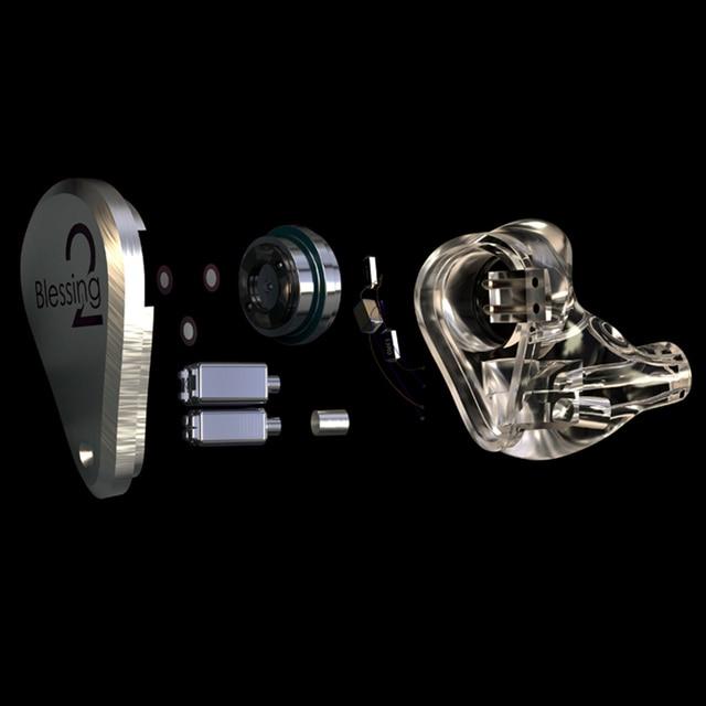 MoonDrop Blessing 2 1DD+4BA Hybrid Technology In-Ear Monitor Earphone 2