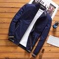 Men's Bomber Zipper Jacket Winter Male Fleece Warm Coats Casual Streetwear Hip Hop Slim Fit Pilot Jackets Mens Clothing
