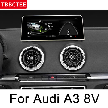 For Audi A3 8V 2014 2015 2016 2017 2018 MMI Android Multimedia Player HD Touch Screen Stereo Display navigation GPS Head Unit image