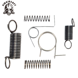 Tactics AEG Steel Ver.2 Gearbox Spring Set Include Switch Tappet Plate Anti Reversal Latch Cutoff Lever Safety Cover Spring
