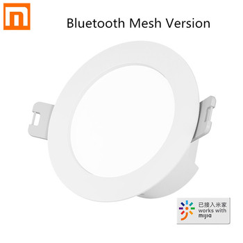 New Xiaomi Mijia Smart Led Downlight Bluetooth Mesh Version Controlled By Voice Remote Control Adjust Color temperature - discount item  30% OFF Smart Electronics