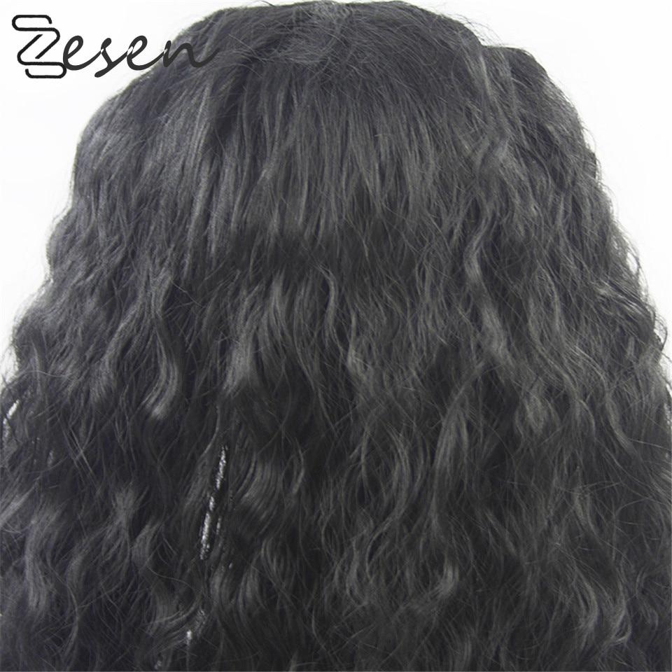 Zesen 13x4 parte profunda perucas dianteiras do