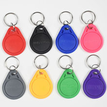 100 pces 125khz rfid proximidade em id em4100 tk4100 cartão token tag keyfobs chave para controle de acesso comparecimento do tempo