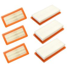 6-Pack Replacement filter for Karcher DS5500 DS5600 DS5800 DS6000 cartridge type 6.414-631.0 DS cleaner part