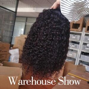 Image 5 - Pelucas de cabello humano rizado de 13x4 4 4x4 bob, peluca de cabello humano rizado Jerry, 100% de cabello humano, pelucas de diadema perruque cheveux humain
