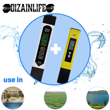 TDS-EC PH Meter Portable LCD Digital Ph Meter 3 In 1 Tester Pen Water Purity PPM Filter Hydroponic for Aquarium Pool Wine