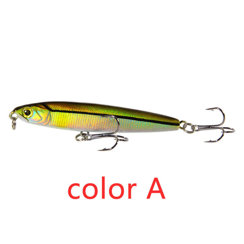 Matita Sinking Fishing Lure Pesi 14/18g Bass Fishing Tackle Esche Accessori Per la Pesca Acqua Salata Esche Pesce Esca di pesca A Traina richiamo