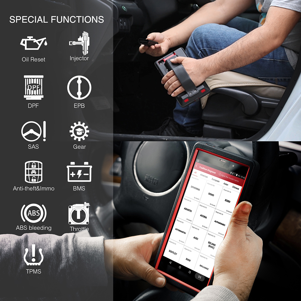 Image 4 - LAUNCH X431 Pro Mini Car Full system diagnostic tool automotive Wifi Bluetooth OBD2 scanner 2 years free update PK Diagun IVEngine Analyzer   -