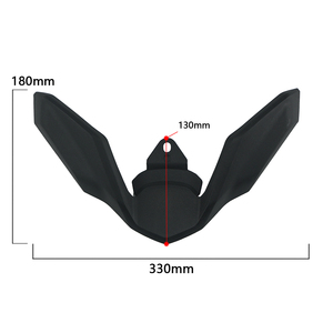 Image 5 - New For BMW R1250GS R1200GS LC ADV R 1250 GS Adventure LC 2017 2019 Motorcycle Front Beak Fairing Extension Wheel Extender Cover