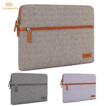 DOMISO 11 13 14 Inch Laptop Sleeve Canvas Fabric Tablet Protective Bag for Laptops Apple Lenovo ThinkPad Acer HP Dell ASUS MSI