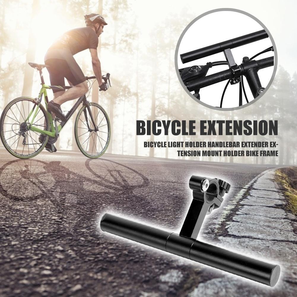 Bike Bicycle Cycling Front Fork Frame Stem Tube Light Holder Extender Seats tool