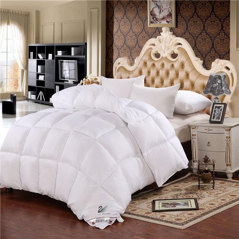 Одеяло на утином/гусином пуху одеяло зимнее теплое для отеля