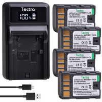 4 stücke BN-VF808 BN-VF808U BN VF808 Batterie + LED USB Ladegerät für JVC GZ-HD7 GZ-MG575 GZ-MG555 GR-D750 GR-D760 GR-D740 GZ-MG255