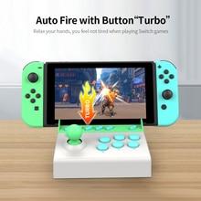 Gamepad-Controller Game-Joystick Switch-Accessories Arcade Single-Rocker Portable Mini