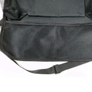 Image 4 - รถ Backseat Organizer Kick Mats ที่นั่งป้องกันกลับกับกระเป๋าเก็บที่ชัดเจนสำหรับของเล่นเด็กขวดเครื่องดื่มยานพาหนะอุปกรณ์เสริม
