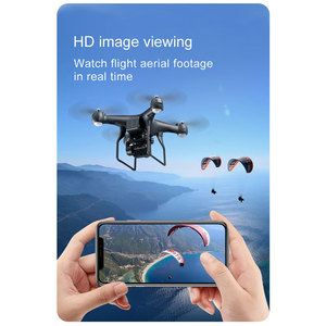 Image 4 - Drone 4K 1080P WiFi FPV Professional Dron selfie quadrocopter with camera Flight 22 Mins air drones tracker RC helicopter