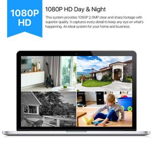 Image 3 - Zosi 4 pces bala 1080p tvi cctv câmera de vigilância de vídeo ir nightvision 2mp videcam cctv cabo de segurança cam para dvr sistema