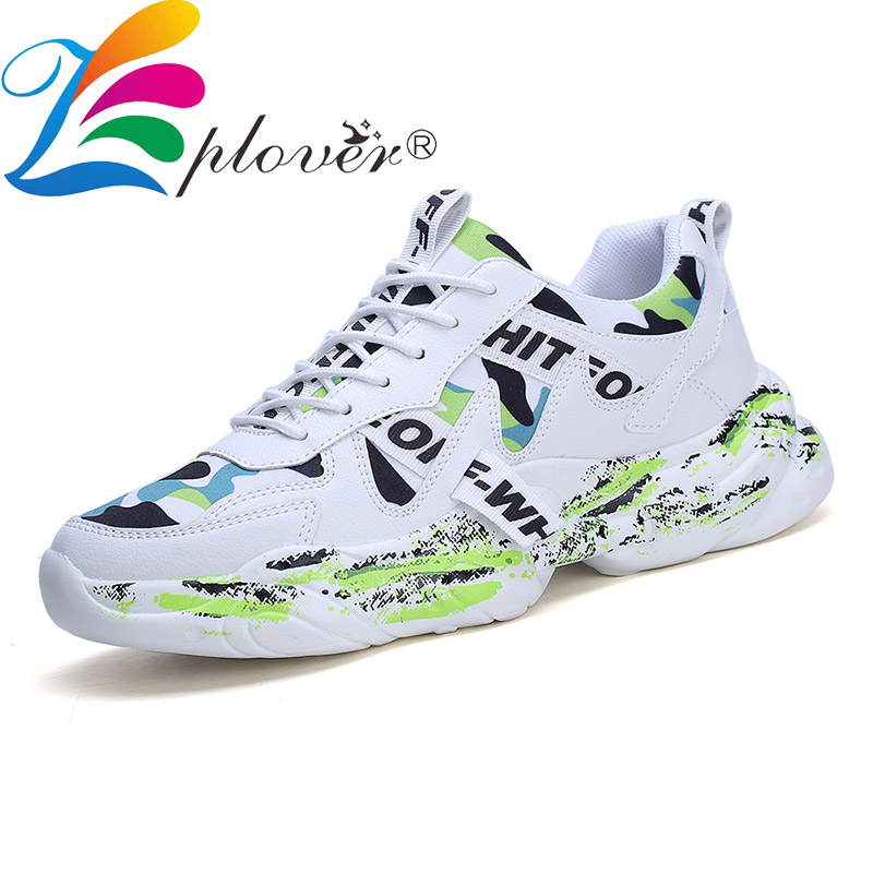 New New 2020 Fashion Mens Shoes Casual Luxury Sneakers Shoes Men Mesh Breathable Lace-up Mens Trainers Comfortable Tenis Masculino
