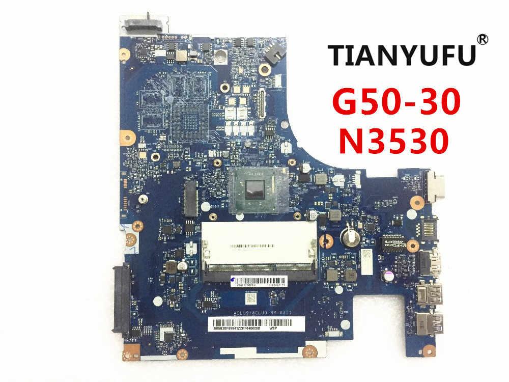 ACLU9 / ACLU0 NM-A311 lenovo G50 G50-30 ノートパソコンのマザーボード (インテル N3530 N3540 cpu) 100% テスト作業