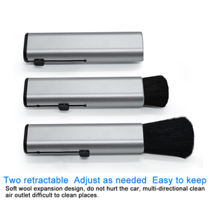 Image 4 - QHCP Car Conditioning Air Outlet Cleaning Plastic Small Dust Removal Artifact Soft Brush Retractable Interior For All Cars