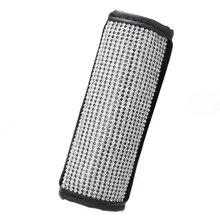 1 шт. автомобильный чехол для ручного тормоза с украшением в виде кристаллов из искусственной кожи