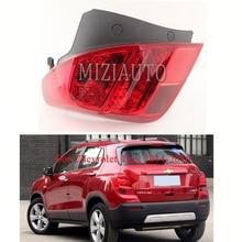 For Chevrolet Trax 2014-2016 Rear tail light Bumper Light Warning Brake taillights assembly Fog lamp