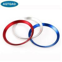 2 Teile/satz Auto Vorne Hinten Logo Chrome Aluminium Metall Ring Dekoration Für BMW 3 4 Serie M3 M4-in Autoaufkleber aus Kraftfahrzeuge und Motorräder bei