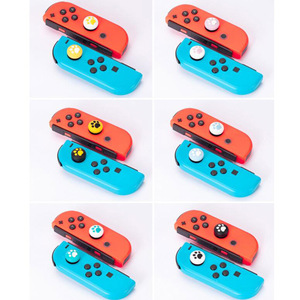 Image 2 - New Cute Cat Paw Claw Thumb Stick Grip Cap Joystick Cover For Nintend Switch Lite NS Joy Con Controller Gamepad Thumbstick Case