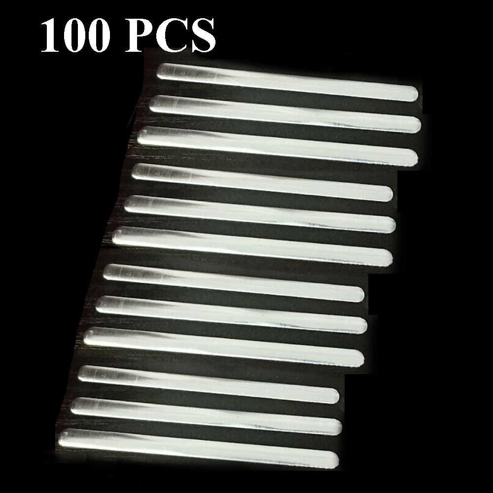 100 Chiếc Khẩu Trang Nhôm Que Có Keo Dán 8 Mm Cho Tự Làm Mặt Nạ Sống Mũi Kẹp Mặt Nạ Phụ Kiện