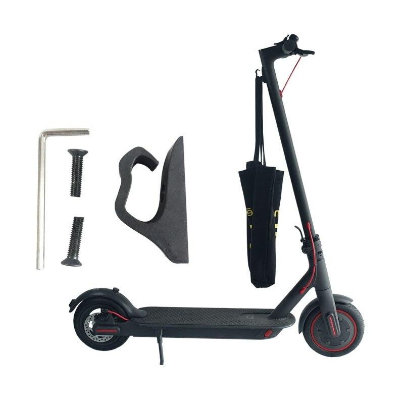 1 juego de ganchos de gancho multifuncional delantero para gancho para scooter el/éctrico Xiaomi M365