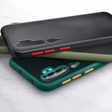 Luxury Contrast Color Matte Hard PC Case For Xiaomi Mi A3 8