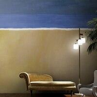 MASAR Modern geometric custom murals teen solid color mosaic wallpaper bedroom bedside background wallpaper Color separation