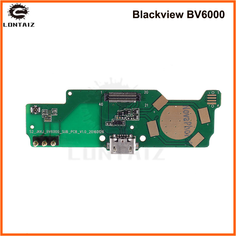 For <font><b>Blackview</b></font> <font><b>BV6000</b></font> Usb Board Charger Port Dock Charging Micro USB Slot Original <font><b>Parts</b></font> For <font><b>Blackview</b></font> BV6000s Smart Mobile image