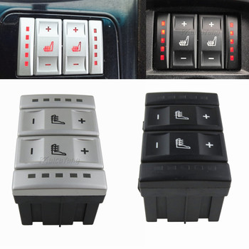 New Car Black/Silver Seat Heating Button Control Switch For Ford mondeo MK4 6M2T-19K314-AC 6M2T19K314AC car accessories image
