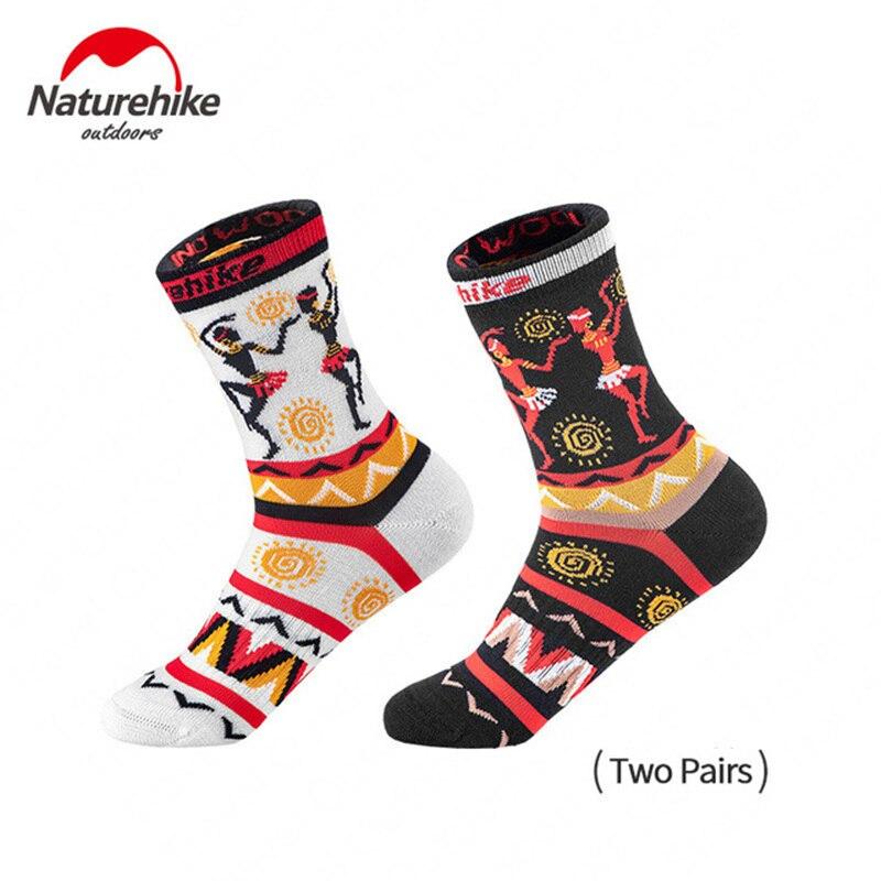 2 Pair Naturehike Outdoor Merino Wool Socks Comfort Breathable Running Camping Socks 2 Colors