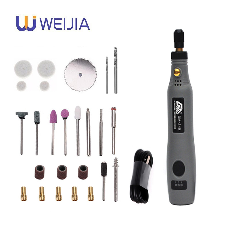 Mini Cordless Drill Power Tools Electric 3.6V Drill Grinder Grinding Accessories Set Wireless Engraving Pen For Dremel Home DIY