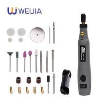 Mini Taladro Inalámbrico herramientas eléctricas 3,6 V taladro amoladora accesorios de molienda inalámbrico grabado pluma para dremel hogar DIY