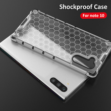 Shockproof Case  For Samsung Galaxy Note 10 Plus Case Silicone Transparent Case For Galaxy Note 10 Pro Note10+  Note10 Cover samsung note 10 plus case original clear hard cover transparent pc plating samsung galaxy note 10 plus 5g note10 pro back case